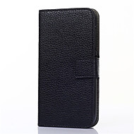 Na Samsung Galaxy Etui Etui na karty / Portfel / Z podpórką / Flip Kılıf Futerał Kılıf Jeden kolor Skóra PU SamsungOn 7 / On 5 / J3 / J1