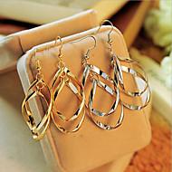 Kolczyki wiszące Stop Silver Golden Biżuteria Na Impreza Codzienny Casual 2pcs
