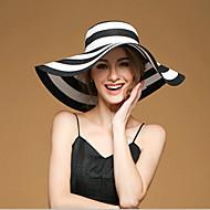 Cuki/Parti/Hétköznapi - Női - Floppy kalap (Vászon/Szalma