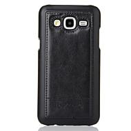 For Samsung Galaxy etui Kortholder Pung Med stativ Flip Præget Etui Bagcover Etui Geometrisk mønster Kunstlæder for Samsung J5