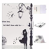 Classical Street Light of Love The dandelion TPU Textile Cloth Card Slot Stents The Cladding For Apple iPad Air