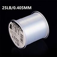 500M / 550 야드 모노필라멘트 투명 25LB 0.405 mm 용바다 낚시 / 플라이 피싱 / 베이트 캐스팅 / 얼음 낚시 / 스피닝 / 채 낚시 / 민물 낚시 / 다른 / 잉어 낚시 / 베이스 낚시 / 루어 낚시 / 일반적 낚시 / 건지러