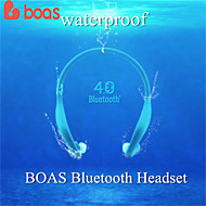 boa di sport bluetooth headset wireless del bluetooth 4.0 per iphone 6 5 5s intelligente microfono samsung s4 s5