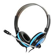 st908-3.5mm kääntyvät stereokuulokkeet kuulokkeet headset irrotettava johto ohjain PC iphone4 / 5 / 6s / 6splus