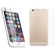 2.5D foran og bagpå præmie hærdet glas skærm beskyttende film til iphone 6s / 6
