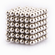 Toys Magic Toy Buckyball 216Pcs 3mm Executive Toys Puzzle Cube DIY Balls Magnetic Balls Magnet Toys Silver
