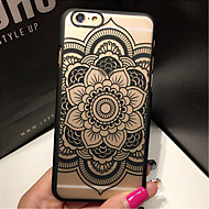 retro padrão de flor caso de telefone PC material de impressão em relevo a céu aberto para 5s iphone 5 / iphone (cores sortidas)