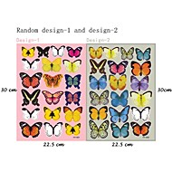 3d наклейки наклейки на стены, 19pcs красочные бабочки наклейки стены PVC