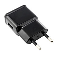 EU Plug AC Wall Charger with 100cm Micro USB Cable for Samsung S6/S4/S3/S2 and Others