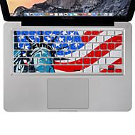 """アップルのMacBookの空気のためdocooler xsknシリコンキーボードスキンフィルムカバーは、私たちのバージョン13 """"15"""" 17 """"プロ"""