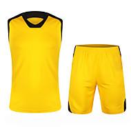 Hauts/Tops / Bas / Shirt ( Jaune / Blanc / Vert / Rouge / Noir / Bleu ) - Fitness / Basket-ball - Sans manche - Homme