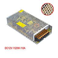 JIAWEN AC110V/ 220V to DC 12V 10A 120W Transformer Switching Power Supply