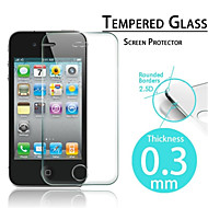 Film de protection d'ecran en verre trempepremium pour Iphone 4/4S