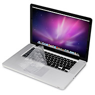 """προστατευτικό σαφές φρουρά οθόνης + λεπτό πληκτρολόγιο κάλυψη TPU + μέταλλο ξεκούρασης και μεμβράνη οθόνη αφής για 13,3 """"/15.4"""" MacBook"""