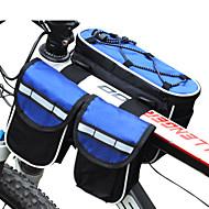 FJQXZ® Pyörälaukku 3LLPyörän Vedenkestävä / Sateen kestävä / Monitoiminen Pyörälaukku Nailon Pyöräilylaukku Kaikki Matkapuhelin Pyöräily