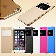 Smart View Screen Touch PU Leather Case for iPhone 6s 6 Plus