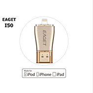 Eaget 64gb i50 per iPhone OTG USB 3.0 flash drive espansione della capacità di 100% per iphone / ipad / ipod, micro pen drive per PC