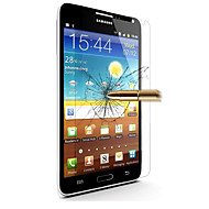 robbanásbiztos prémium edzett üveg filmvászon védőburkolat 0,3 mm edzett membrán íven Galaxy Note 2