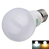 8W E26/E27 Żarówki LED kulki A60(A19) 16 SMD 2835 600 lm Ciepła biel / Zimna biel Dekoracyjna AC 100-240 V 1 sztuka