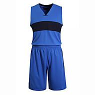 Hauts/Tops / Bas / Shirt ( Blanc / Noir / Bleu Foncé ) - Fitness / Basket-ball - Sans manche - Homme
