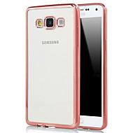 Na Samsung Galaxy Etui Galwanizowane / Przezroczyste Kılıf Etui na tył Kılıf Jeden kolor TPU SamsungA7(2016) / A5(2016) / A9 / A8 / A7 /