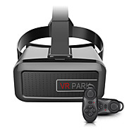 вр парк v2 3d очки вр картонная коробка для виртуальная реальность гарнитуры с Bluetooth пульта дистанционного управления