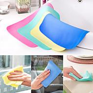 imitação de camurça pano de limpeza absorvente (m cor aleatória)