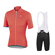 KEIYUEM® Short Sleeve Spring / Summer / Autumn  Cycling Clothing Sets/Suits TightsWaterproof