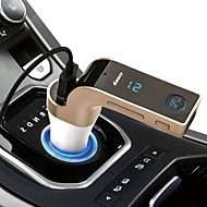 CAR Bluetooth FM Transmitter With TF/USB flash drives Music Player SD and USB Charger Features