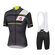 KEIYUEM Moto/Ciclismo Meia-calça / Conjuntos de Roupas/Ternos Homens / Unissexo Manga CurtaImpermeável / Á Prova-de-Pó / A Prova de Vento