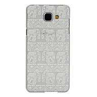 For Samsung Galaxy etui Transparent Mønster Etui Bagcover Etui Elefant PC for Samsung A7(2016) A5(2016) A3(2016) A9 A5 A3