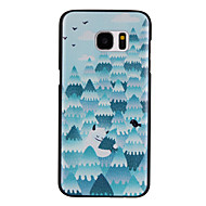 átölelve fa mintás pc anyag telefon esetében Samsung Galaxy S7 / s7 él / s7 plus