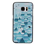 обниматься дерево шаблон материала ПК телефон случае для Samsung Galaxy s7 / s7 край / s7 плюс