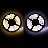 Waterproof  5 m LED 300*3528 SMD DC12V warm white/natural white 20W IP65