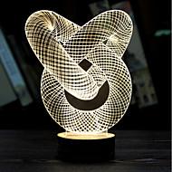 visuell 3d band modell humör atmosfär ledde dekoration usb bordslampa färgrik gåva nattlampa (diverse färg)