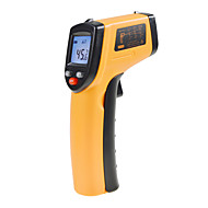 Non-Contact IR Laser Infrarød digitalt termometer LCD Digital Infrared Pyrometer Laser Point Temperatur GM320