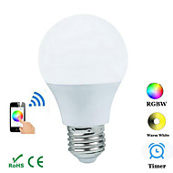 JIAWEN E27 4.5W Bluetooth APP Controlled Bulb - White (AC 100~240V)