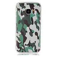 Mert Samsung Galaxy tok Minta Case Hátlap Case Álcázás TPU Samsung S7 / S6 edge / S6 / S5 Mini / S5 / S4 Mini / S4 / S3 Mini / S3 / S2
