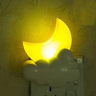 piękny księżyc inteligentne światła awaryjne kontrolowane doprowadziły lampka nocna dla dzieci pokojowej dekoracji domu