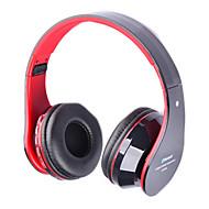 universal de 3,5 mm plegable inalámbrica Bluetooth estéreo para auriculares auriculares ranura tf fm mic para el iphone ipad
