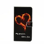 Na Samsung Galaxy Etui Etui na karty / Z podpórką / Flip / Wzór / Magnetyczne Kılıf Futerał Kılıf Napis Skóra PU SamsungA7(2016) /
