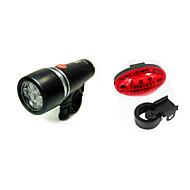 Luz Frontal para Bicicleta / Luz Trasera para Bicicleta LED - Ciclismo Fácil de Transportar AAA 200LM Lumens Batería Ciclismo