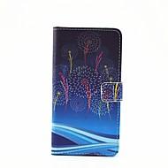 Na Samsung Galaxy Etui Etui na karty / Z podpórką / Flip / Wzór / Magnetyczne Kılıf Futerał Kılıf Dmuchawiec Skóra PU SamsungA7(2016) /