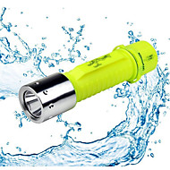 Annen LED Lommelygter LED 500 Lumens 1 Modus - AA VandtætCamping/Vandring/Grotte Udforskning Dagligdags Brug Dykning/Lystsejlads Jakt