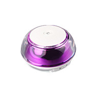 Mini Bluetooth Portable Speaker Purple for Cellphone / Car / iphone / samsung