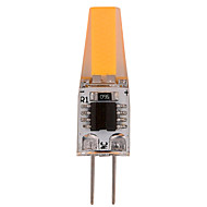 1 Stück YWXLIGHT Dimmbar / Dekorativ LED Doppel-Pin Leuchten T G4 4W 300-360 lm 2800-3200/6000-6500 K 1 COB Warmes Weiß / Kühles WeißAC