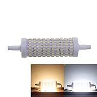 R7S 118mm 15W 180x4014SMD LED Warm White / Cool White 1500LM 360°Beam Horizontal Plug Lights Flood Light AC85-265V