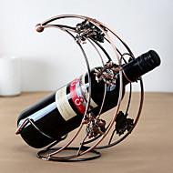 moon suunnittelu vuosikerta puhdasta rautaa viinipulloteline