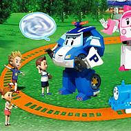 formskiftende robot plast til børn over 3 puslespil legetøj