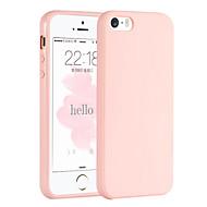 vaaleanpunainen tyttö yksivärinen tyylikäs yksinkertainen pehmeä kotelo iPhone 5 / iphone 5s